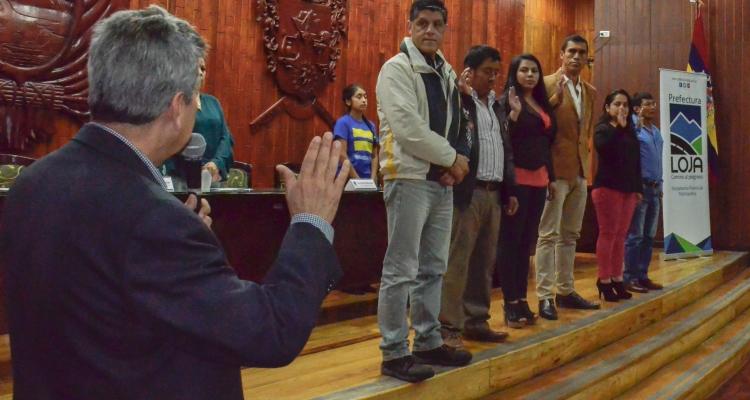 ELECCIÓN Y POSESIÓN DE LOS DELEGADOS DE LA CIUDADANÍA AL CONSEJO PROVINCIAL DE PLANIFICACIÓN.